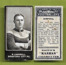 Bradford City Robert Campbell 150